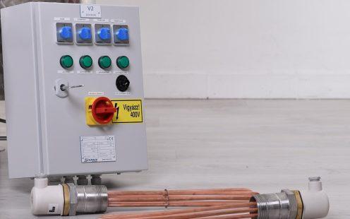 Elektromos fűtés 12 kW (üstház nélküli üsthöz)