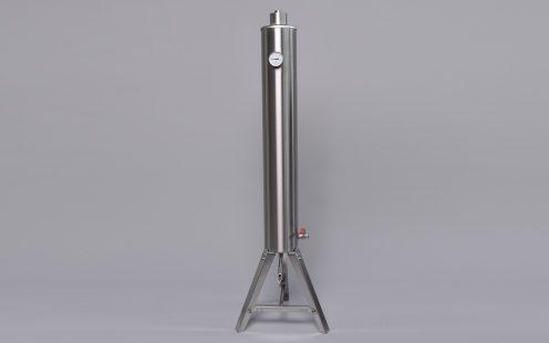 PRO-AT rozsdamentes acél átfolyós hűtő, tányéros 30l FELÁRRAL
