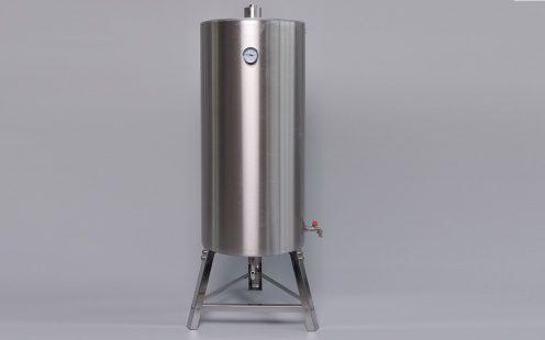 PRO-TT rozsdamentes acél tartályos hűtő, tányéros 180l FELÁRRAL
