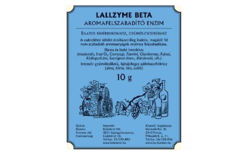 Lallzyme beta - Aromafelszabadító enzim