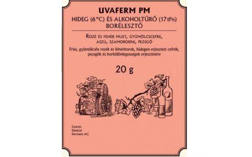 Uvaferm PM - hideg- és alkoholtűrő borélesztő