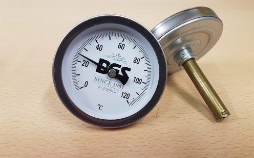 Analóg hőmérő pálinkafőzőhöz - DES számlapos