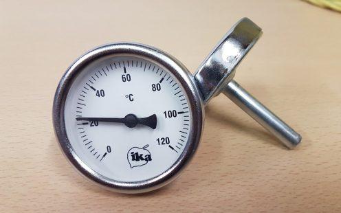 Analóg hőmérő pálinkafőzőhöz- IKA
