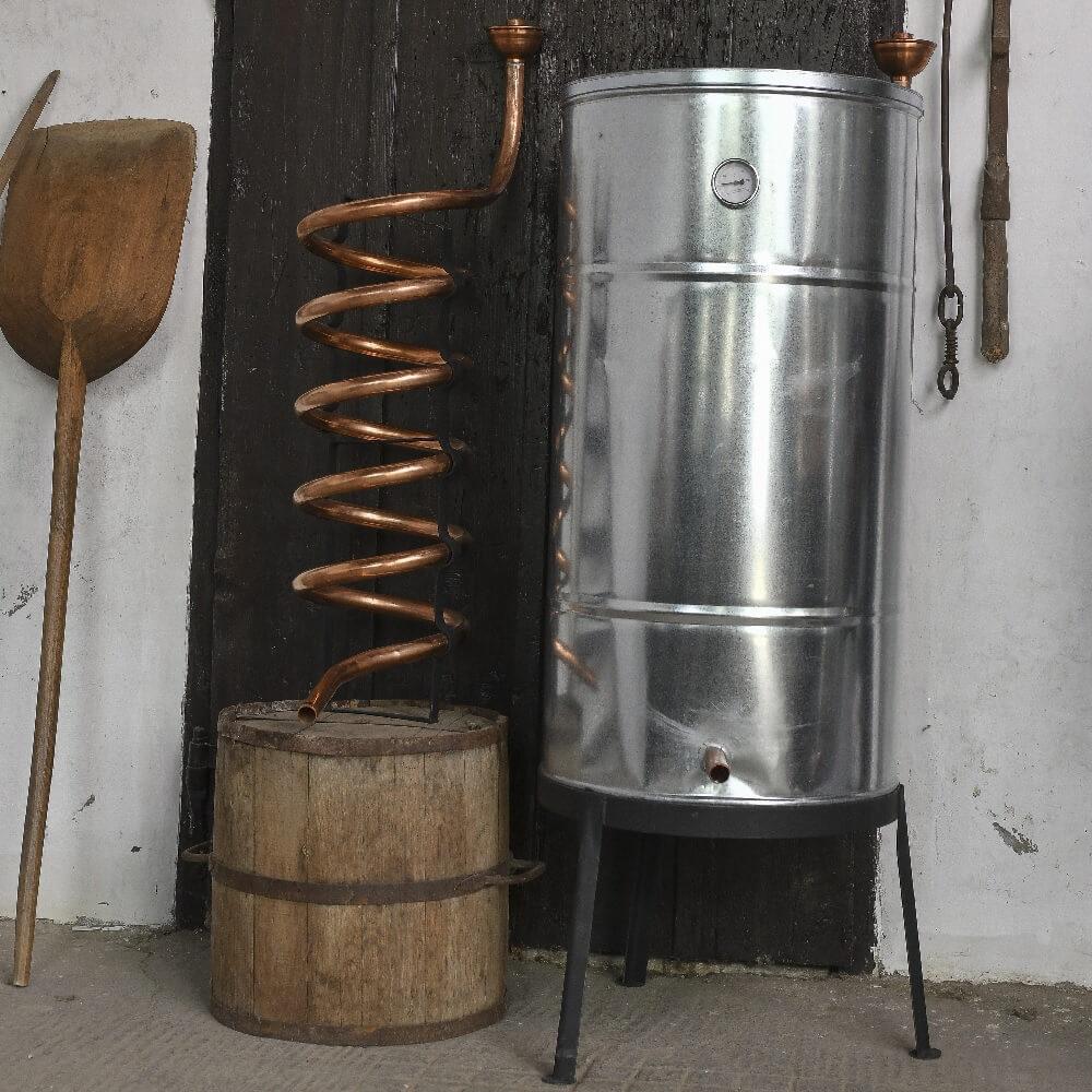 200 literes tartályos hűtő / horganyzott