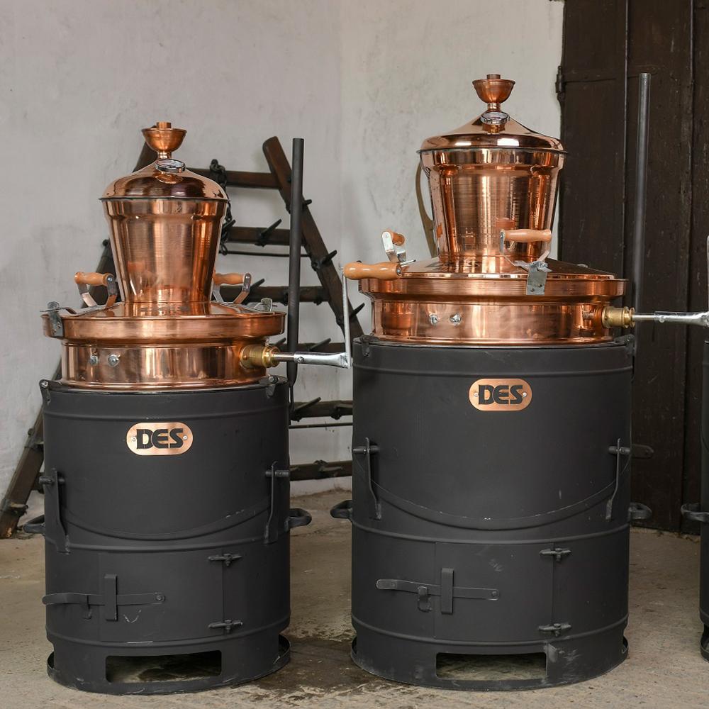 60 és 100 literes pálinkafőző