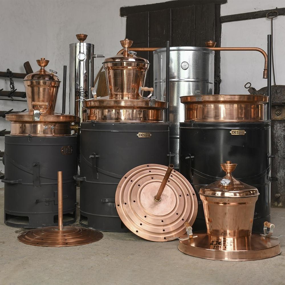 DES 1961 60-100 literes pálinkafőző termékcsalád