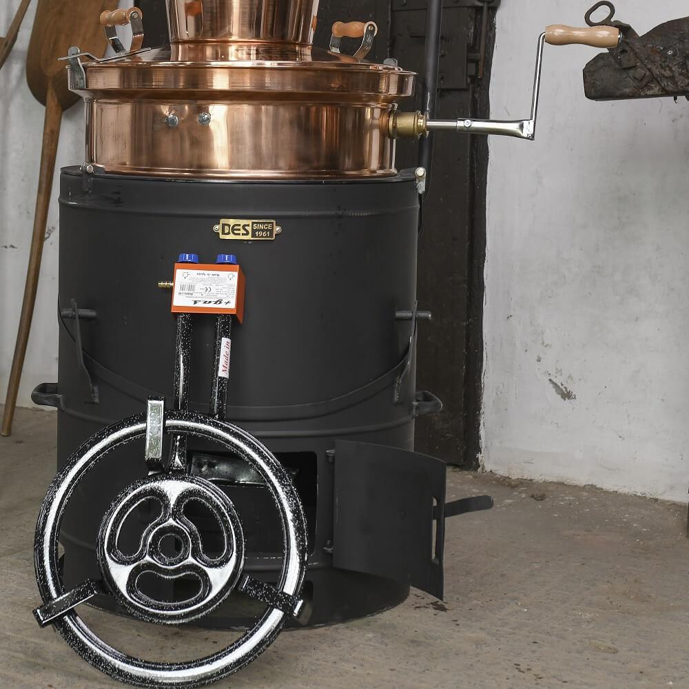 15 kW gázzsámoly 80 és 100 literes üstökhöz (OPCIONÁLIS)