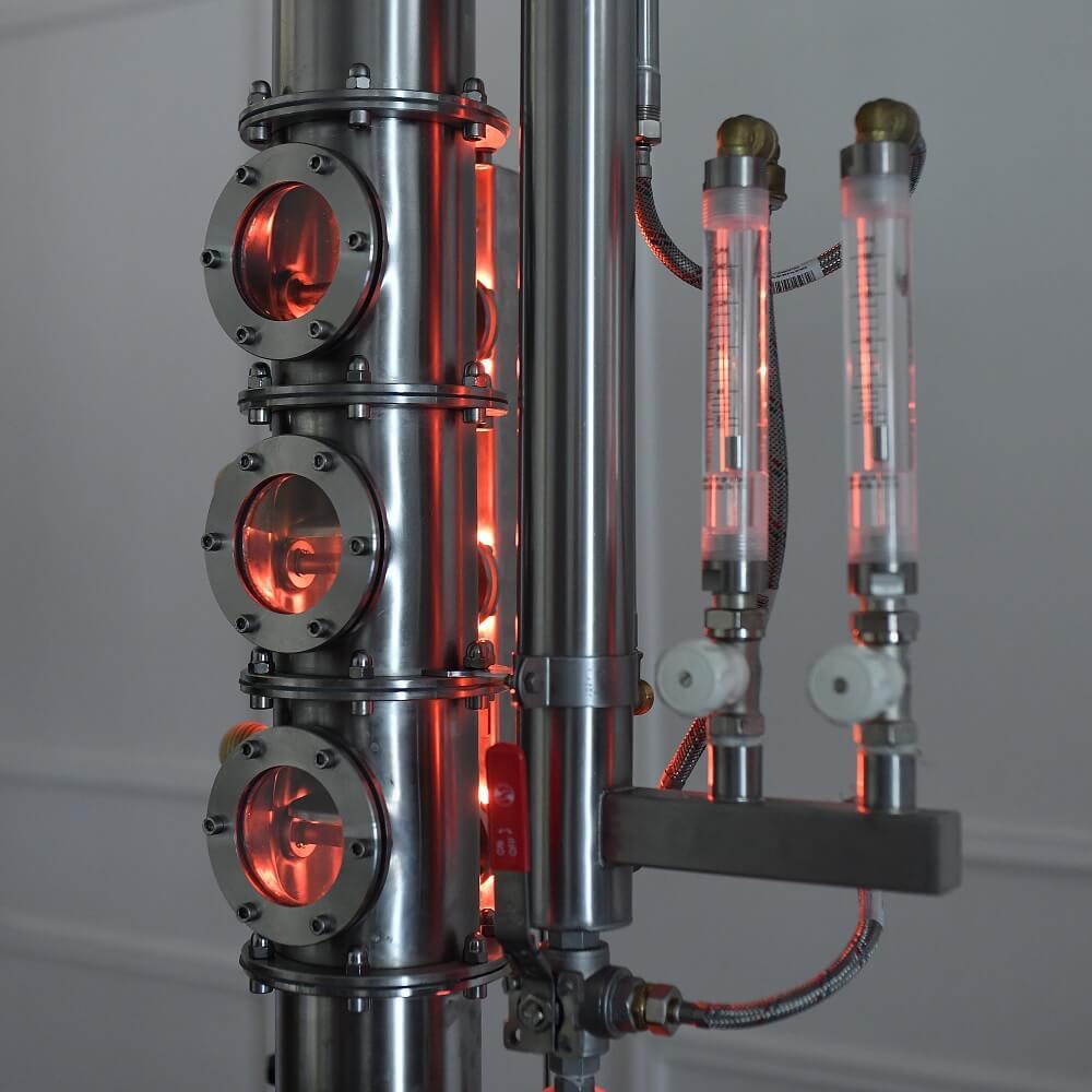 3 db LED oszlop- és háttérvilágítás nézőüvegekkel - profi