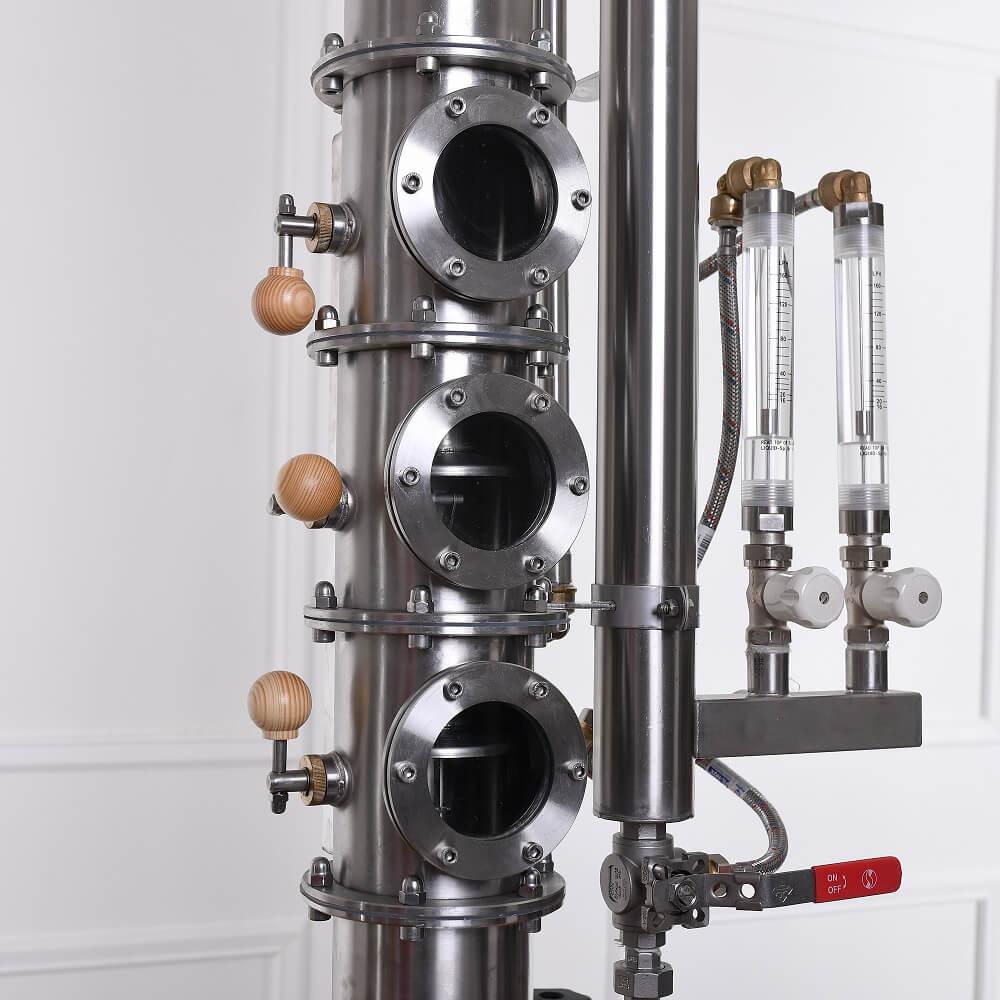 3 db aroma-maximalizáló fokozatmentes folyadékszint szabályzós szitatányér - profi