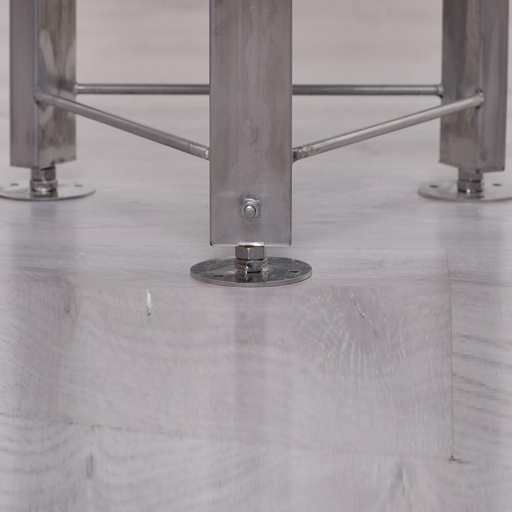 Rozsdamentes acél háromláb, szintbeállító funkcióval - ALAP, KÖZÉP, PROFI