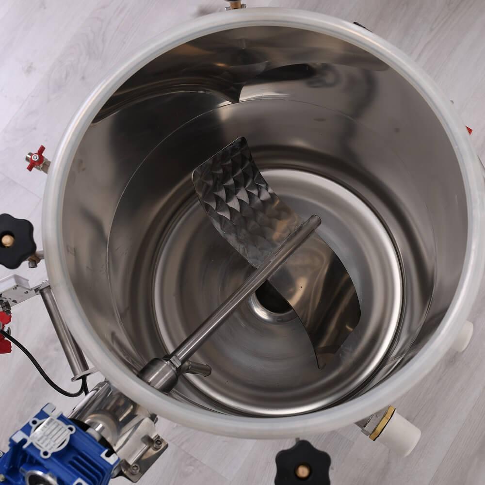 Elektromos keverőmotor és keverőlapát üstbe építve - közép, profi