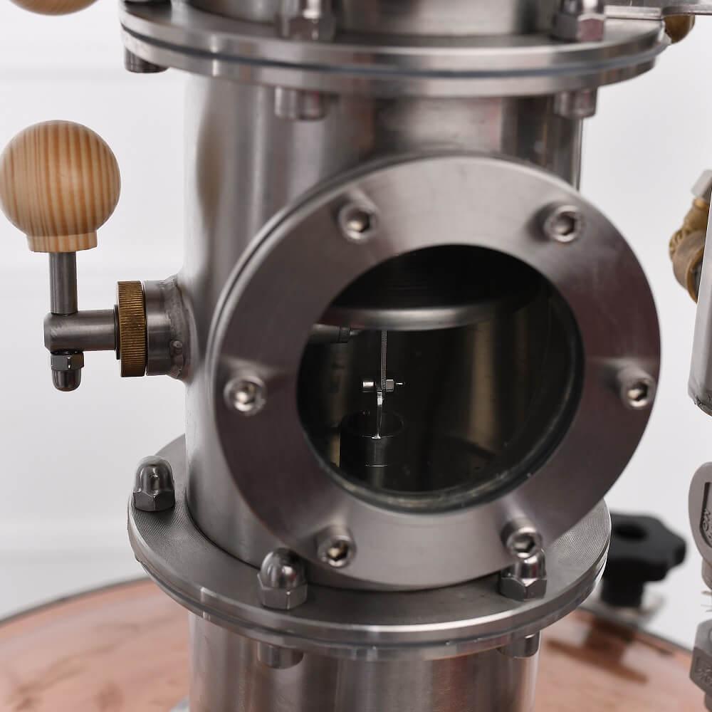 Szitatányéros oszloprész aroma-maximalizáló fokozatmentes folyadékszint szabályzással - profi